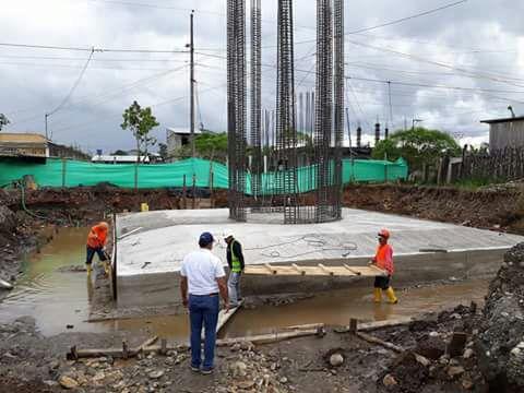 Proyecto de agua en Nueva Loja