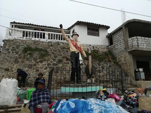 Población de Angamarca - Sinde